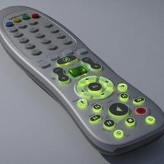 Media Center remote control 3D Model