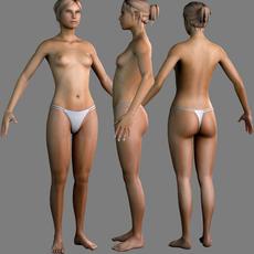 sexy woman 3D Model