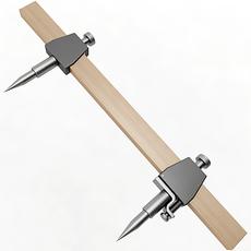 Beam Compass 3D Model