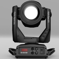 Moving Spotlight Stage Light 3D Model