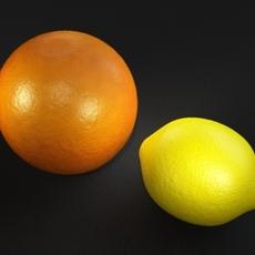 orange and lemon shader for Maya 0.0.2