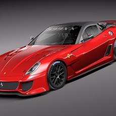 Ferrari 599XX 3D Model