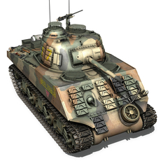 M4A3 Sherman - US Marines - Pacific 3D Model