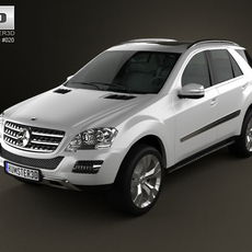 Mercedes-Benz ML class 3D Model