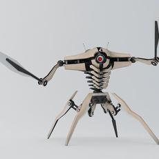 Robot G200 3D Model
