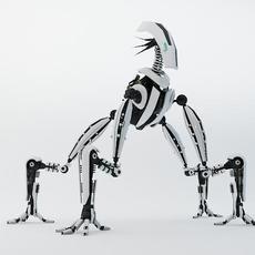 Robot MGS1200 3D Model