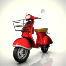 Vespa Scooter Rig for Maya 1.1.0