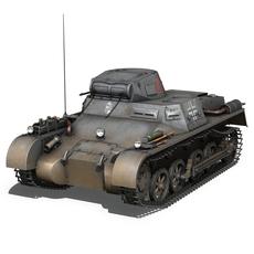 Panzer 1 - Panzerkampfwagen 1 Ausf.A 3D Model