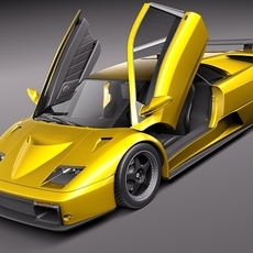 Lamborghini Diablo GT 1999 3D Model