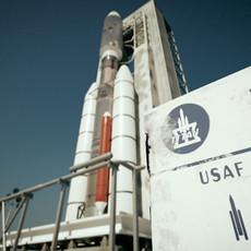 Rocket & Launchpad Titan 3E Centaur 3D Model