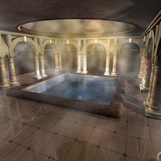 Ancient bath 3D Model