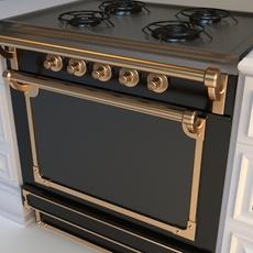 Gourmet Stove 3D Model