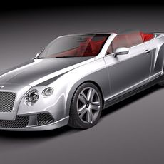 Bentley Continental GTC 2012 3D Model