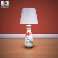 Ashley Mell Table Lamp 3D Model
