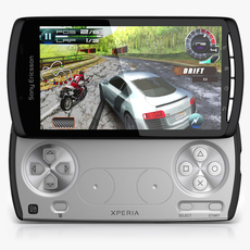Sony Ericsson XPeria Play 3D Model