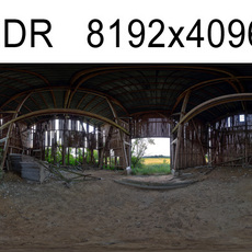 Barn HDRI Environment (High resolution)