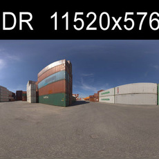 Container HDRI Environment (High resolution)