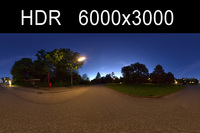 Night HDRI Environment (High resolution)