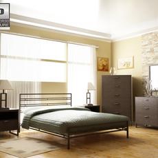 Ashley Sonya bedroom set 3D Model