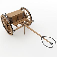 Napoleon Model 1841 6 pounder Limber 3D Model