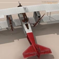 Gotha G.IV Bomber 3D Model