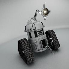 Robot MJK645 3D Model