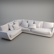 Corner Sofa 2 3D Model