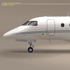 Legacy 500 generic colors 3D Model
