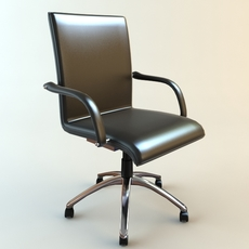Office Armchair 3 3D Model