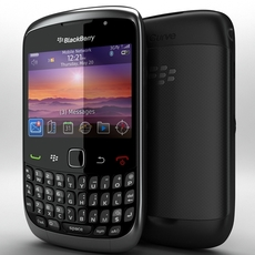 BlackBerry Curve 9300 3D Model
