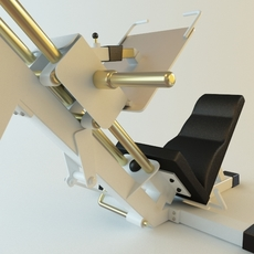 Exercise Machine 3 3D Model