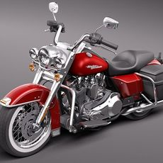 Harley Davidson Road King Classic 2011 3D Model