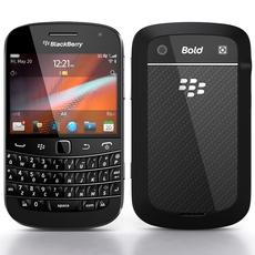 BlackBerry Bold 9900/9930 3D Model