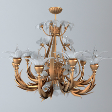 Ornate Chandelier 3D Model