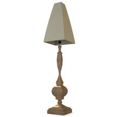 Wooden Table Lamp 3D Model