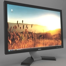 Dell Monitor 3D Model