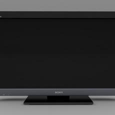 Sony Bravia TV - KDL-37EX403 3D Model