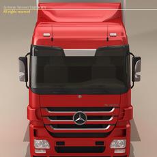 Mercedes Actros Megaspace 3D Model