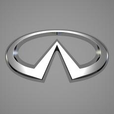 Infiniti Logo 3D Model