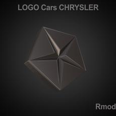 Chrysler 3d Logo 3D Model