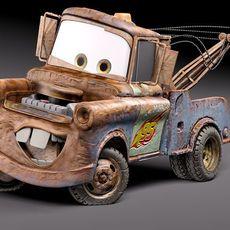 Tow Mater CARS 3D Model