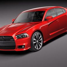 Dodge Charger SRT8 2012 3D Model