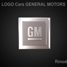 GM 3d Logo 3D Model