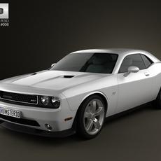 Dodge Challenger SRT8 2011 3D Model
