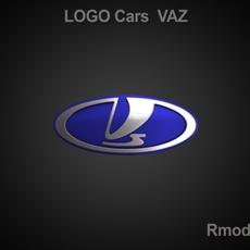 Vaz 3d Logo 3D Model