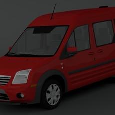 Ford Transit Connect XLT 3D Model