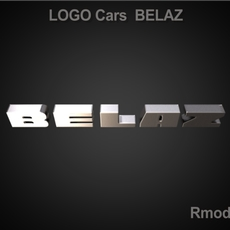 Belaz 3d Logo 3D Model