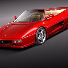 Ferrari F355 spider 1994-1999 3D Model