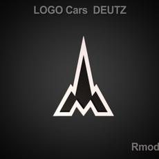 Deutz 3d Logo 3D Model