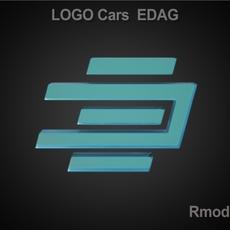 Edag 3d Logo 3D Model